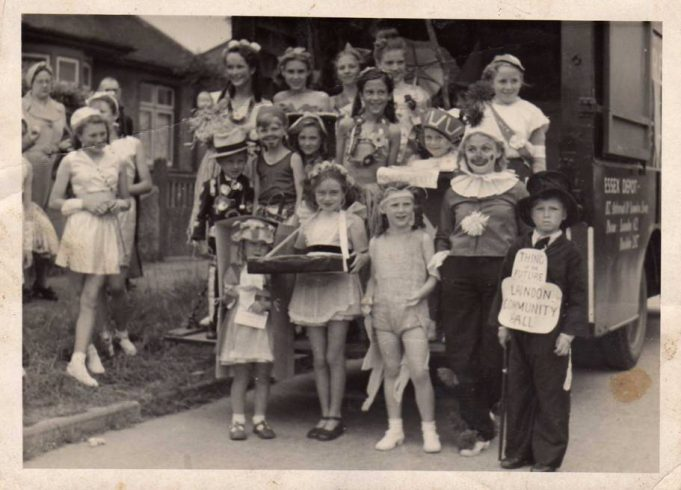 Laindon Carnival early fifties.