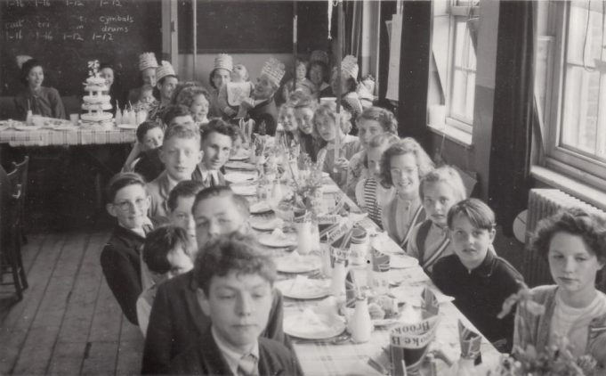 Coronation Tea Laindon Park School 1953 | John Peters