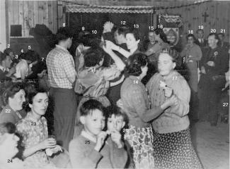 Coronation Celebrations on Primrose Hill 1952