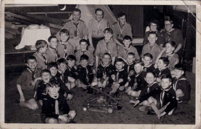 Cubs and Scouts circa 1954 | Alan Bailey