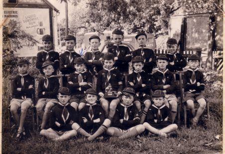 Cubs and Scouts circa 1954