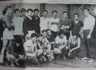 Laindon High Road School sportsmen | Basildon Standard November 1964