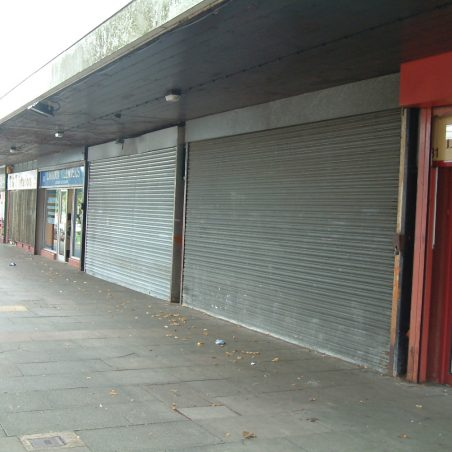 Now -  Two of the shops in this parade are closed | Ian Mott (1/8/2012)