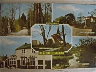 This postcard belongs to my wife,s aunt(by marriage)who is the daughter of the last landlord of The Wheatsheaf pub that was in Little Burstead