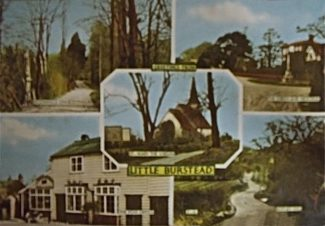 This postcard belongs to my wife,s aunt (by marriage) who is the daughter of the last landlord of The Wheatsheaf pub that was in Little Burstead