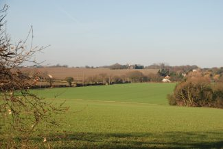 Burstead Church on the Horizon | Ian Mott