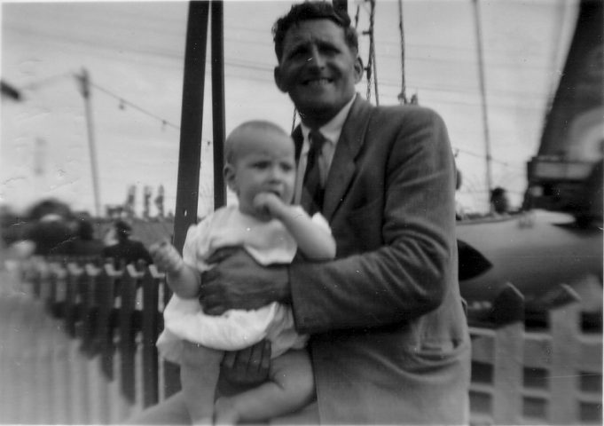 9.  Dad and Alan, Peter Pan's Playground 1952.  Mum took all the photos. | Nina Humphrey