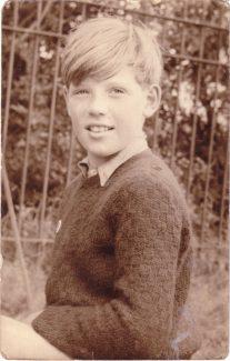 David Edwards at Markham's Chase School 1956-1957. | David Edwards