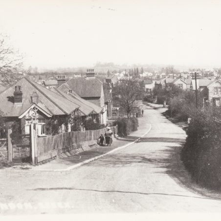 Looking North along High Rd from with original junction with Berry lane | David Mumford