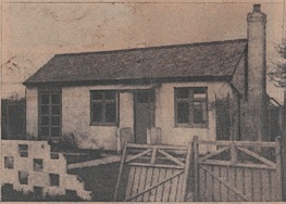 The bungalow which is being demolished.