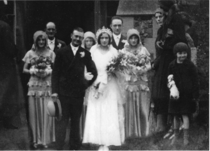 Maria Clements aged 17 came to Laindon in 1926 on holiday where she met James junior, the relationship progressed and they were married on Christmas day 1931 at St Nicholas Church
