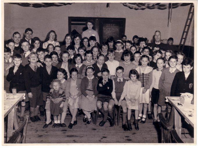 Christmas Party St Nicholas Church Hall 1957. | Donald Joy