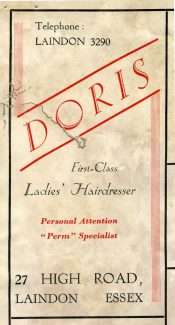 Doris the Hairdresser.