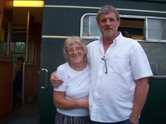 Dorothy & Steve, our son,2011