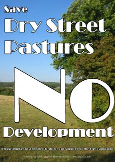 Save Dry Street Pastures