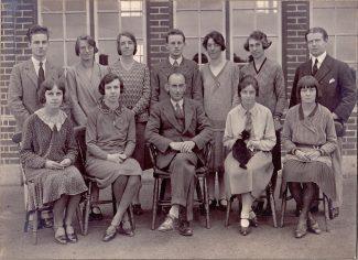 Teachers in 1930s | Ann & John Rugg