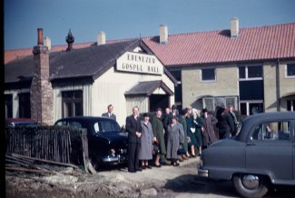 The Congregation outside Ebenezer | Roger Clark