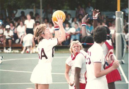 Jillean Hipsey (neé Porter)...Netball legend