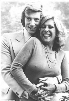 Greg Smith and Lynda Bellingham