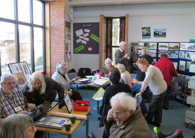 Memory Day, Laindon Library 22nd February 2014. | Colin Humphrey