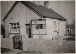 Fornham Sandringham Rd., approx 1953 | Joan Baterip (née Sarfas)