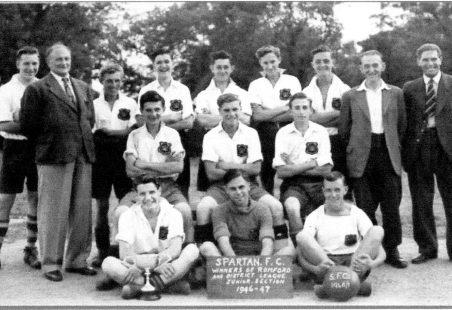 Spartan Football Team