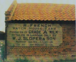 The old advertising sign at French's Farm | Peter Sloper