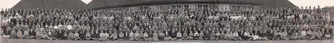 Laindon High Road School Staff and Pupils 1956 | Jimmy Quinton