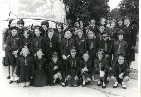 Laindon Baptist Church Girls' Life Brigade 1964