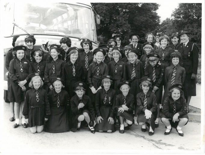 Laindon Baptist Church Girls' Life Brigade 1964