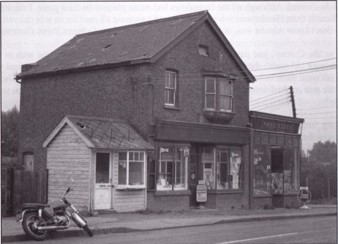 This may have been the children's shop referred to above. The picture was taken in the 1960s when the old Laindon High Road was derelict, very few of the original shops remained and it was difficult to identify the shops as I remembered them from over 30 years previously.