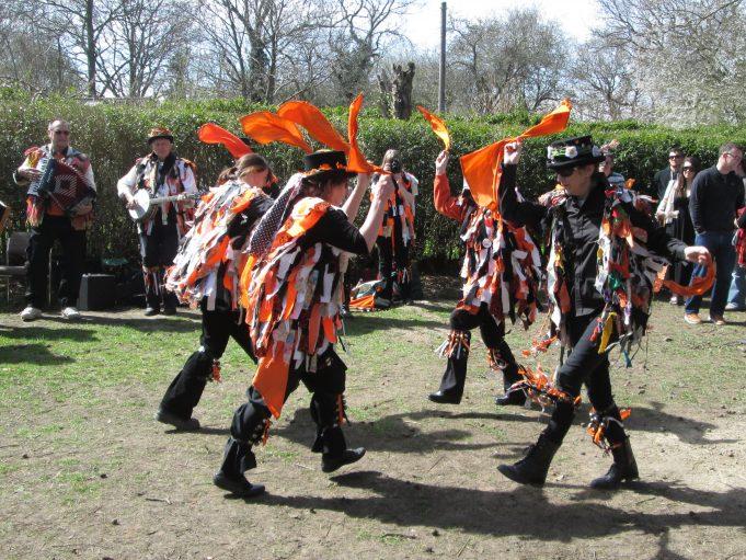 Hands Around ladies Morris Dancing Team | Nina Humphrey