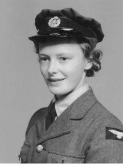 Hilda in her W.A.A.F. uniform