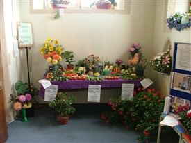 Horticultural Society Display at St Nicholas Church