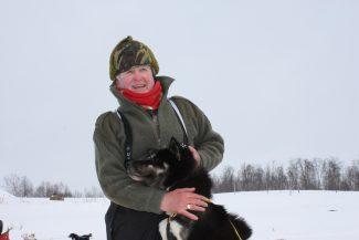 Jet - one of the huskies | Mike Mackay