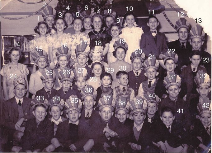 Christmas Party 1953