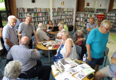 Memory Days at Laindon Library 2017