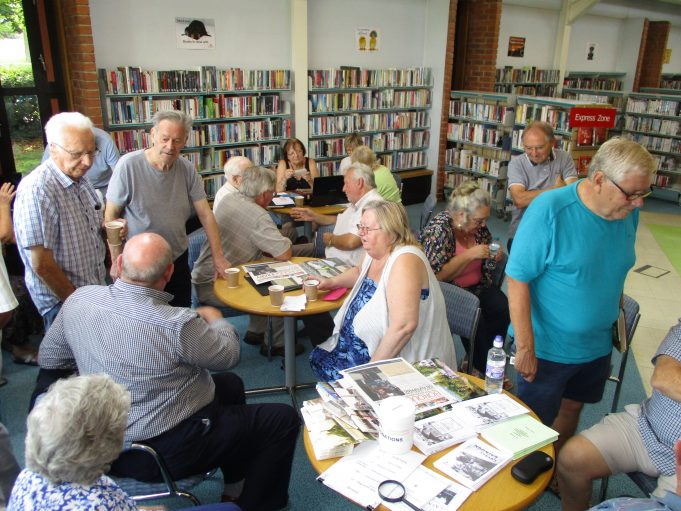 Memory Day at Laindon Library 26th August 2017. | Colin Humphrey