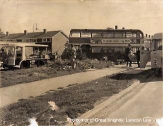 The Accident at junction of Laindon Link and Great Knightleys | Peter Sloper