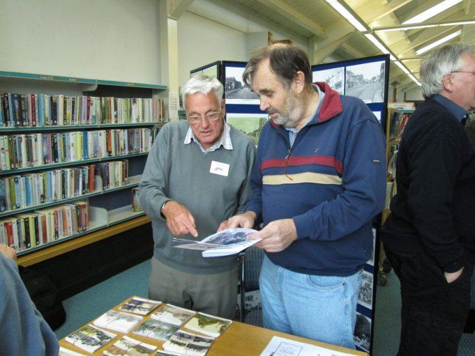 John Rugg and Brian Clement   Colin Humphrey