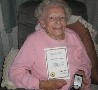 Hilda Bragg (née Harber) - Memories of Laindon and World War II