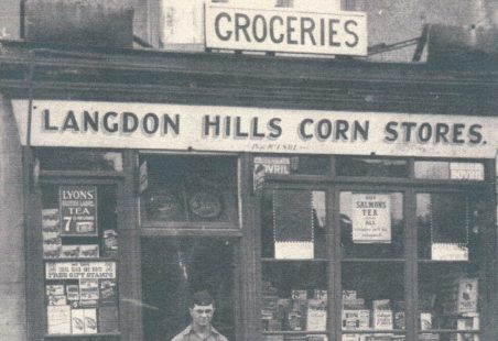 "Sidney Salt and ""Langdon Hills Corn Stores"""