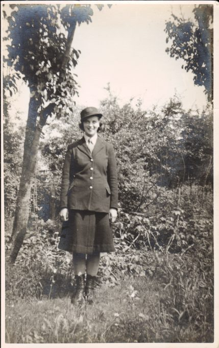 Ivy Jobson in her Post Office uniform. Thought to be early forties. | Nina Humphrey(née Burton)