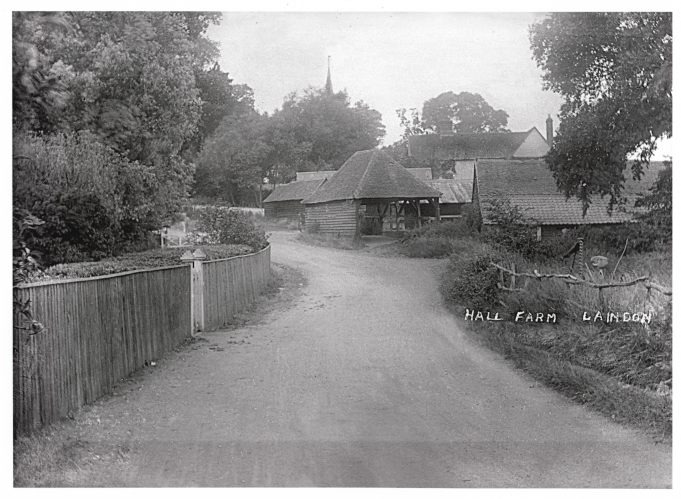 Hall Farm with the spire of St Nicholas Church in the background.   Barry Ellerby