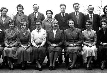 Markhams Chase Teachers 1956