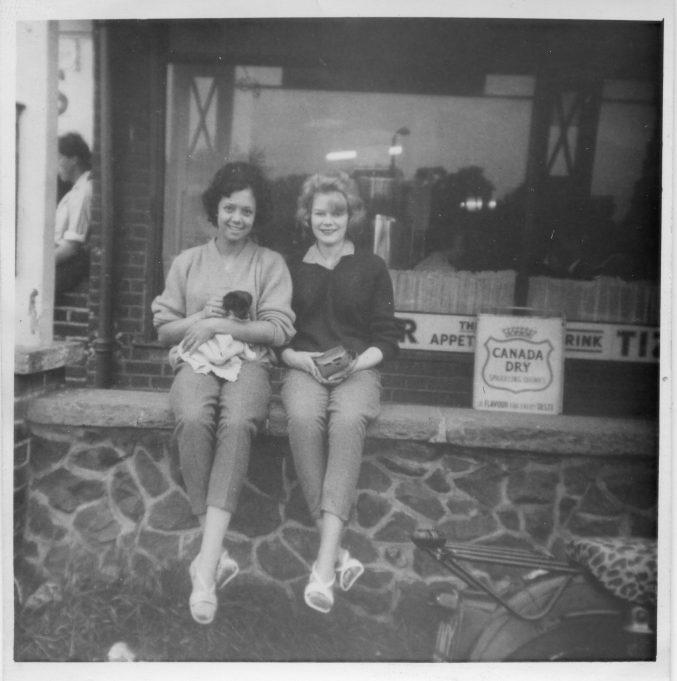 Jessie Hernandez and June Smith