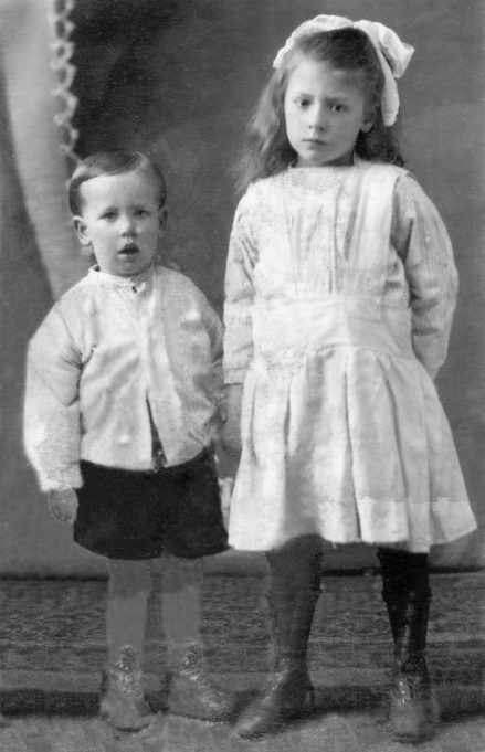 1.  My mum Jessica Devine with brother Richard shortly before they moved to Laindon from Bethnal Green | Nina Humphrey