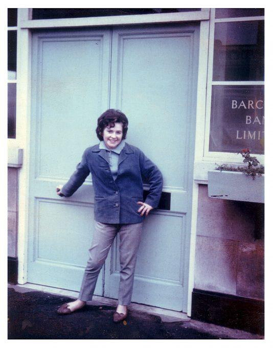 Jill aged 16. | Jill Barnes (née Adams)
