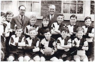 Langdon Hills School - Football team 1954 | Jim Quinton