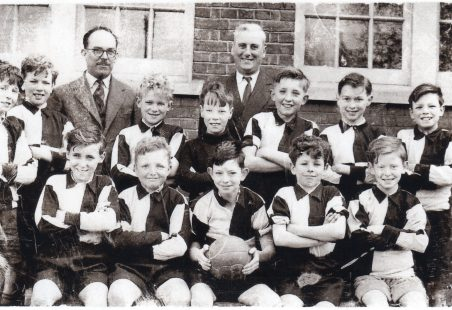 Langdon Hills School - Football team 1954
